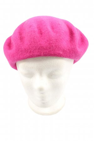Topshop Baskenmütze pink Casual-Look