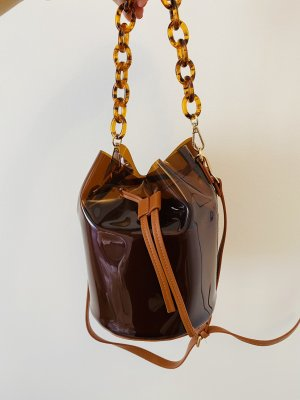 Topshop Pouch Bag brown