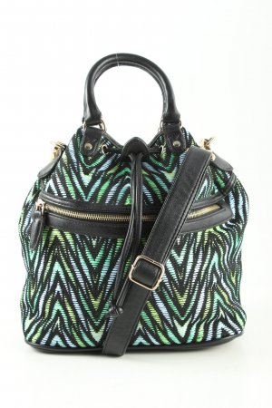 Topshop Beuteltasche Allover-Druck Casual-Look