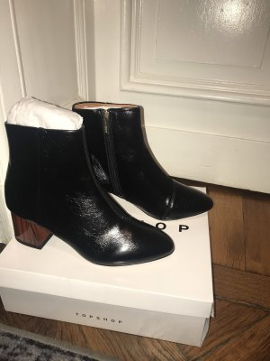 Topshop Birch Block- Ankle Boot
