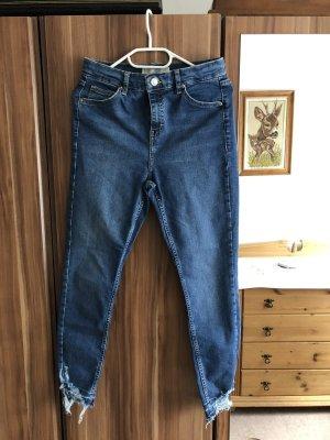 Topshop blaue Jamie Jeans 30/30