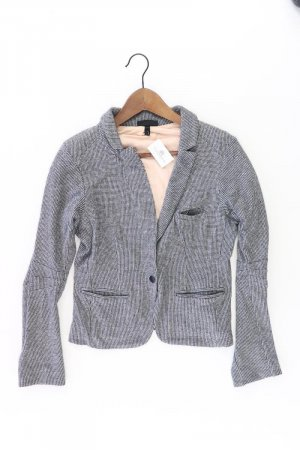 Topshop Blazer Größe 38 grau aus Baumwolle