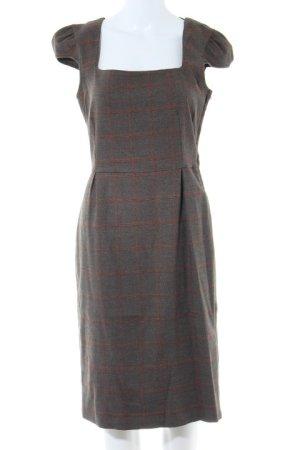 Topshop Bleistiftkleid graubraun-dunkelorange Street-Fashion-Look