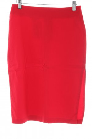 Topshop Jupe crayon rouge style d'affaires
