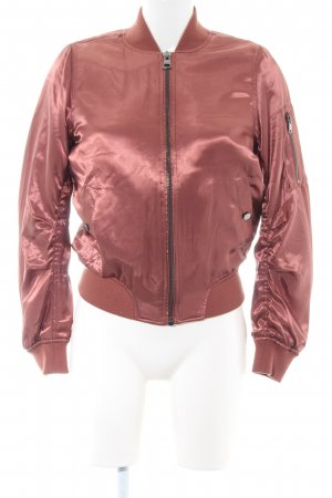 Topshop Blouson pink Casual-Look