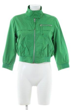 Topshop Blouson grün Casual-Look
