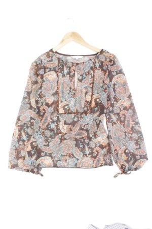 Topshop Bluse Größe 8 mehrfarbig aus Polyester