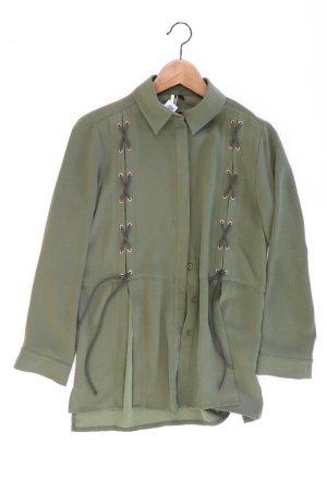 Topshop Blouse groen-neon groen-munt-weidegroen-grasgroen-bos Groen Polyester