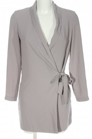 Topshop Blouse Jacket light grey casual look