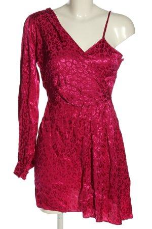Topshop Blusenkleid pink Allover-Druck Elegant