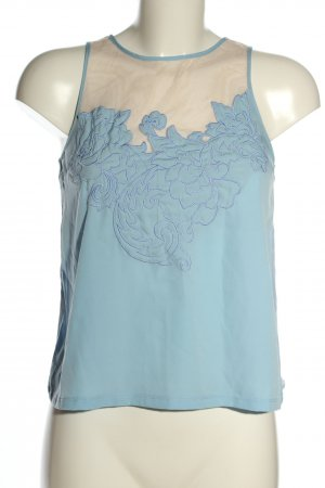 Topshop Blouse topje blauw casual uitstraling