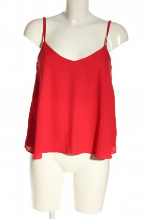 Topshop Blusentop rot Casual-Look