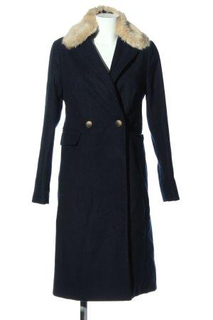 Topshop bodenlanger Mantel schwarz Casual-Look