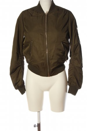 Topshop Giacca bomber marrone stile casual