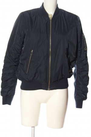 Topshop Bomber Jacket blue casual look