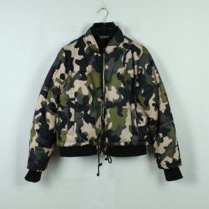 TOPSHOP Bomberjacke Gr. 40 Camouflage (20/10/027*)