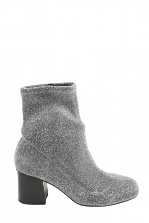 Topshop Booties silberfarben Casual-Look