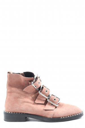 Topshop Booties pink Casual-Look