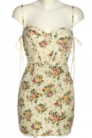 Topshop Bustier Dress multicolored