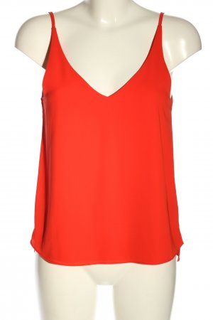 Topshop Camisole rot Casual-Look