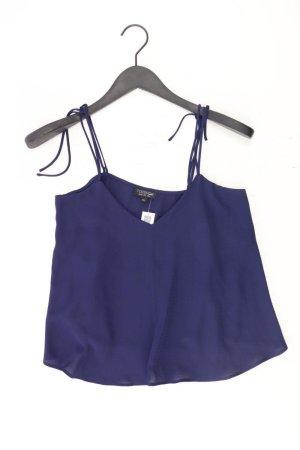 Topshop Camisole Größe 34 blau aus Polyester