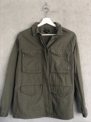 Topshop Military Jacket multicolored