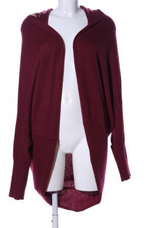 Topshop Cardigan rot Casual-Look