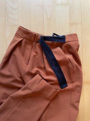 Topshop Pantalone peg-top ruggine-arancione scuro