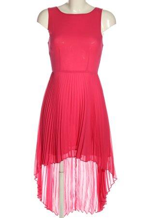 Topshop Chiffonkleid pink Casual-Look