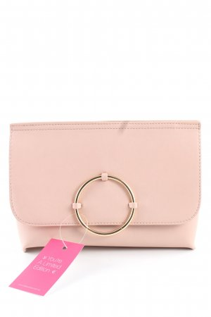Topshop Clutch pink-goldfarben Casual-Look