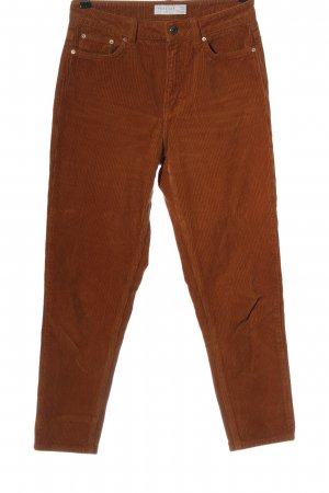 Topshop Corduroy Trousers brown casual look