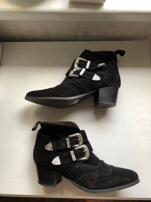 Topshop Cowboy Boots Leder 40