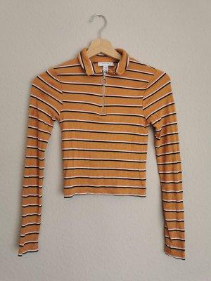 Topshop Petite T-shirt court multicolore