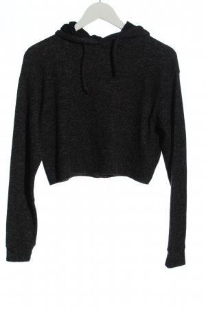 Topshop Cropped Pullover hellgrau meliert Casual-Look