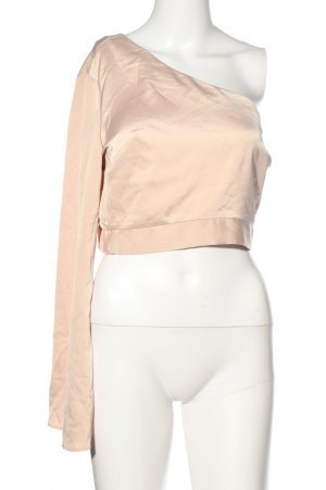 Topshop Cropped Shirt wollweiß Casual-Look