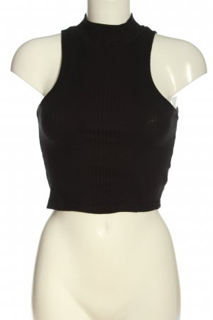 Topshop Cropped Top braun Casual-Look