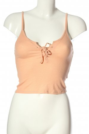Topshop Cropped top nude casual uitstraling