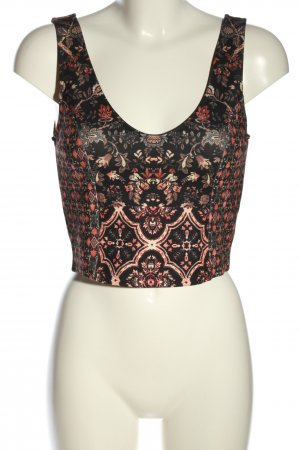 Topshop Cropped Top Mustermix Casual-Look