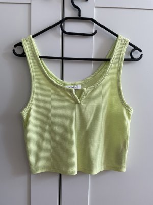 Topshop Cropped Top neon