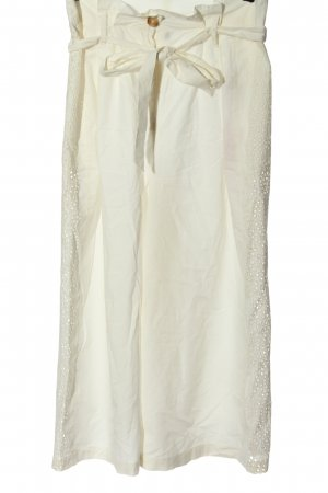 Topshop Pantalone culotte bianco sporco stile casual