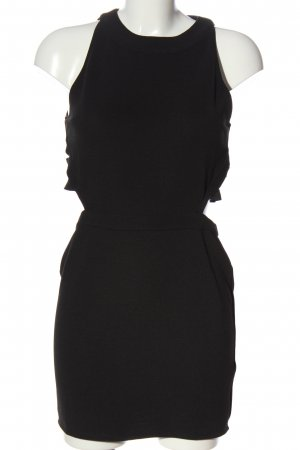Topshop Abito cut out nero elegante