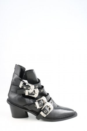 Topshop Western-Stiefeletten schwarz extravaganter Stil