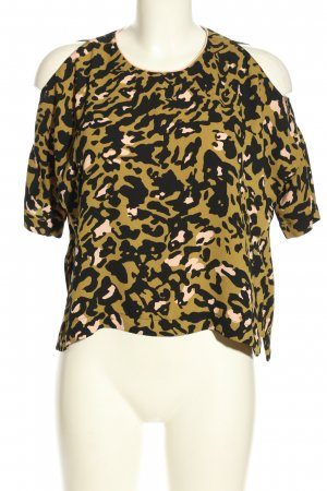 Topshop Cut out top volledige print casual uitstraling