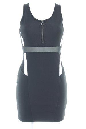 Topshop Etuikleid schwarz-weiß Elegant