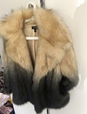 Topshop faux fur Jacke