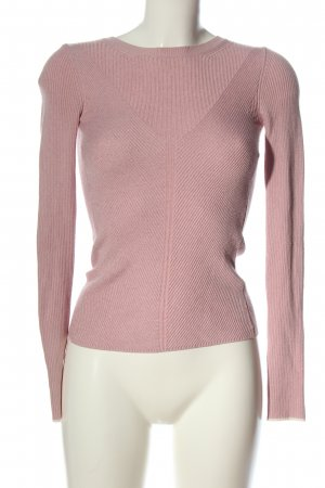 Topshop Feinstrickpullover pink meliert Casual-Look