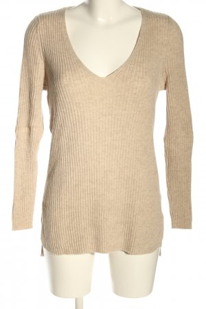 Topshop Feinstrickpullover creme Casual-Look