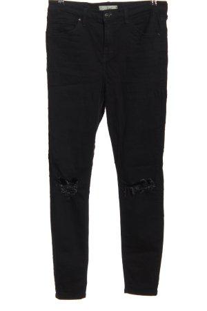 Topshop Five-Pocket Trousers black casual look