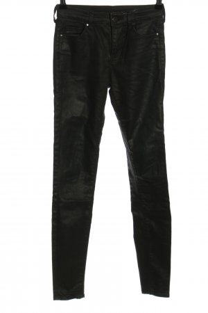 Topshop Five-Pocket-Hose schwarz Casual-Look