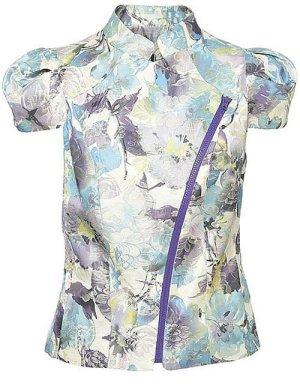 Topshop Floral Jacket Größe 6 34 XS
